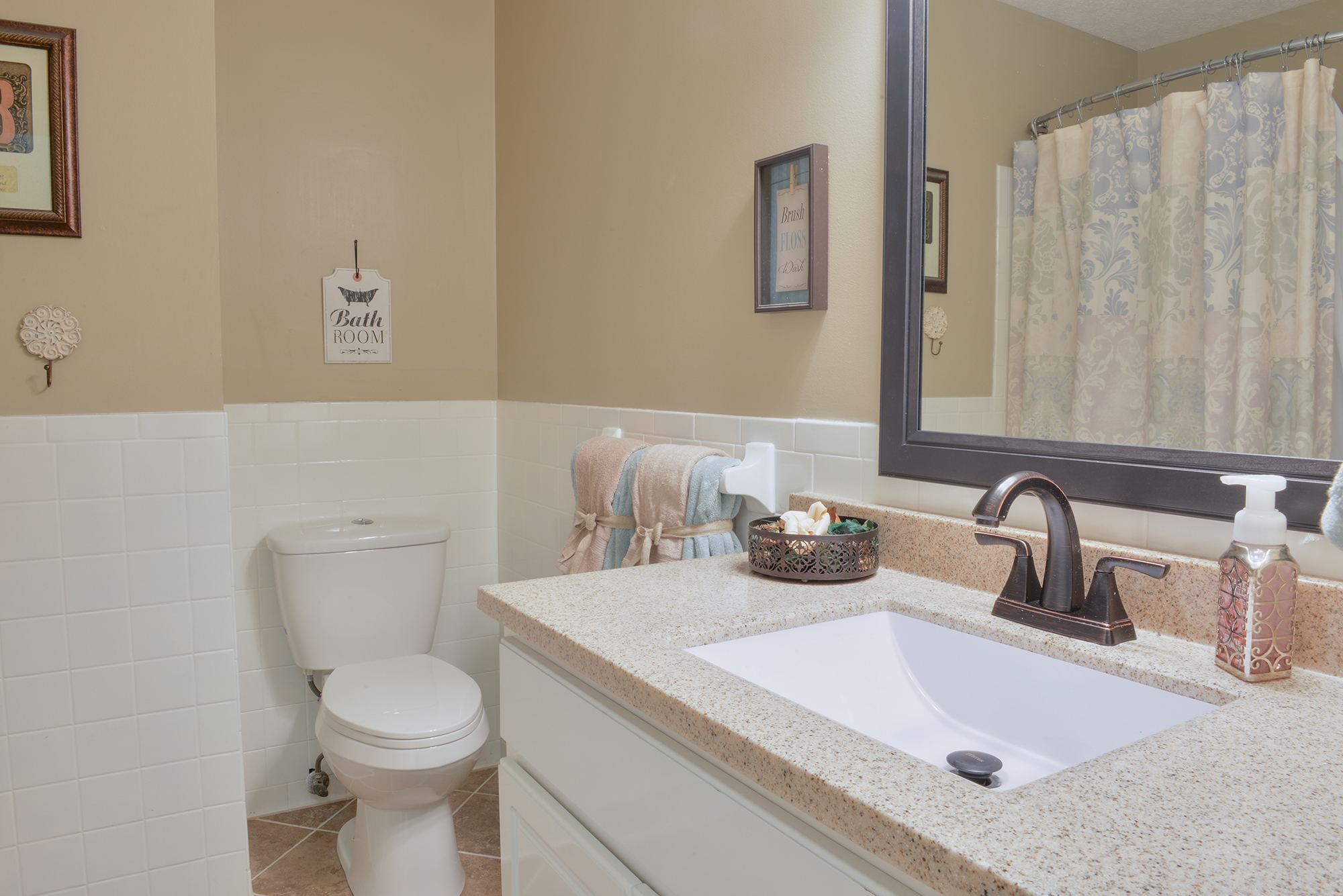 Hallway Bathroom - Real Estate Photography in Maryville, TN