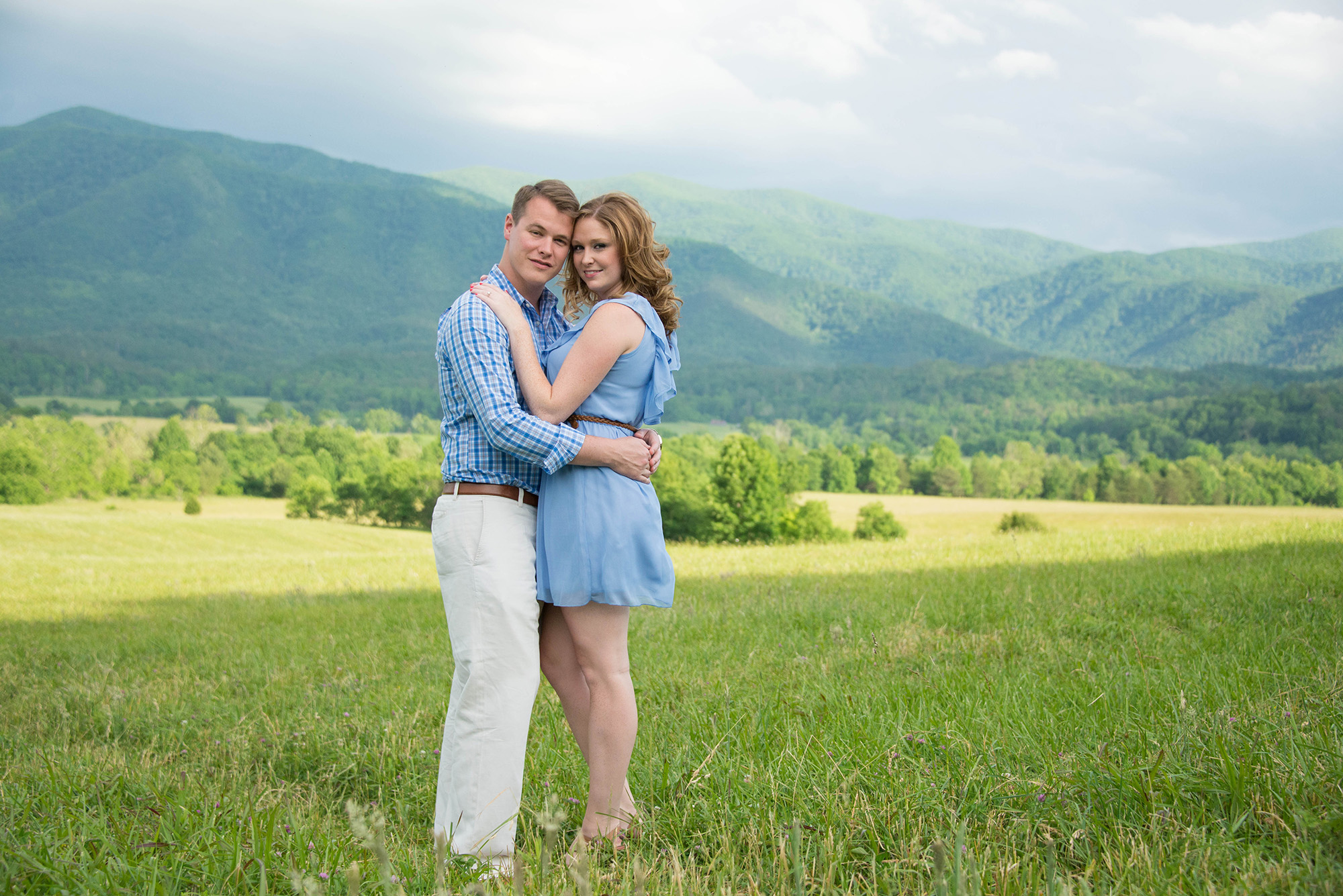 Cades Cove Engagement Session Photo Shoot