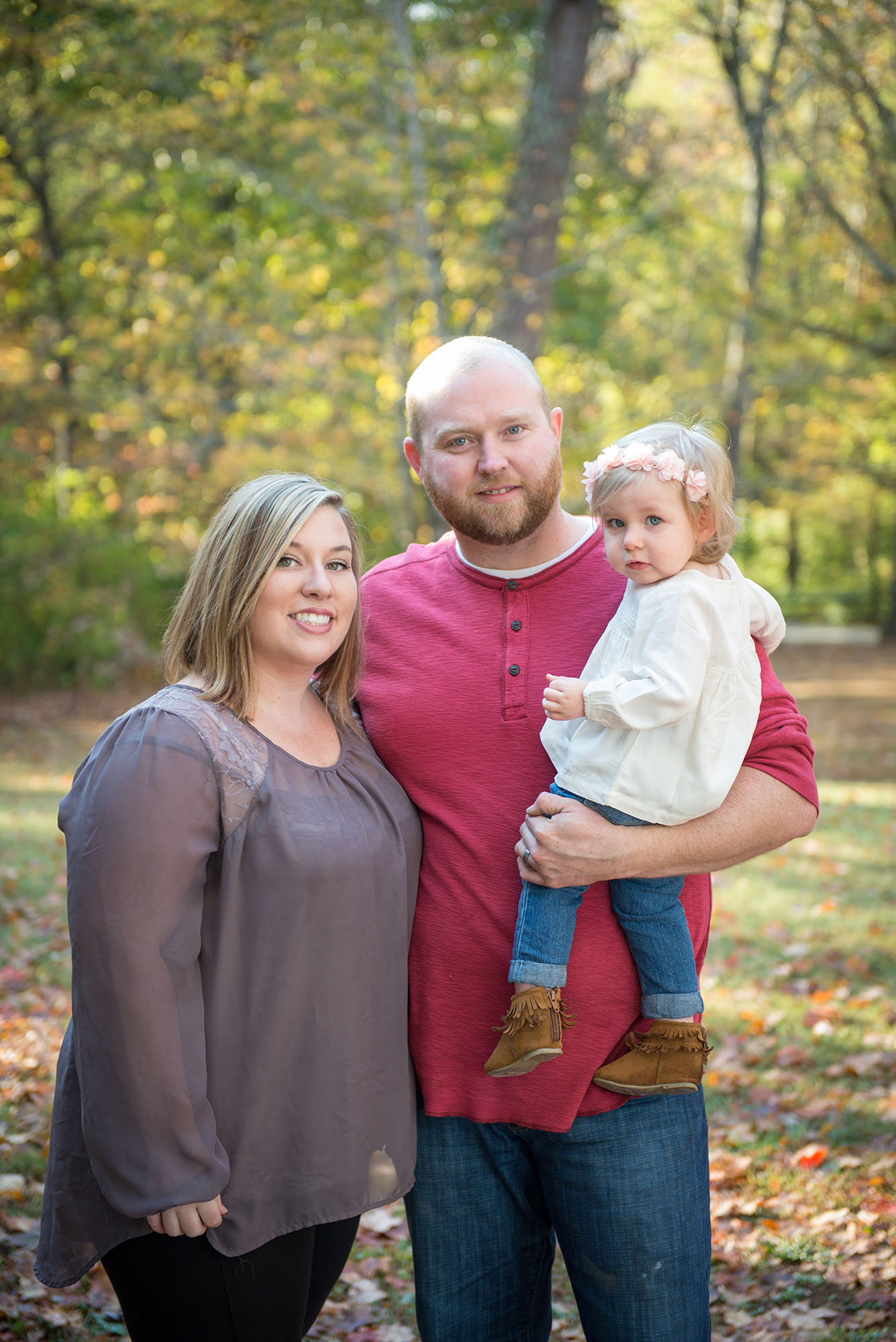 Maryville Fall Family Portrait Session