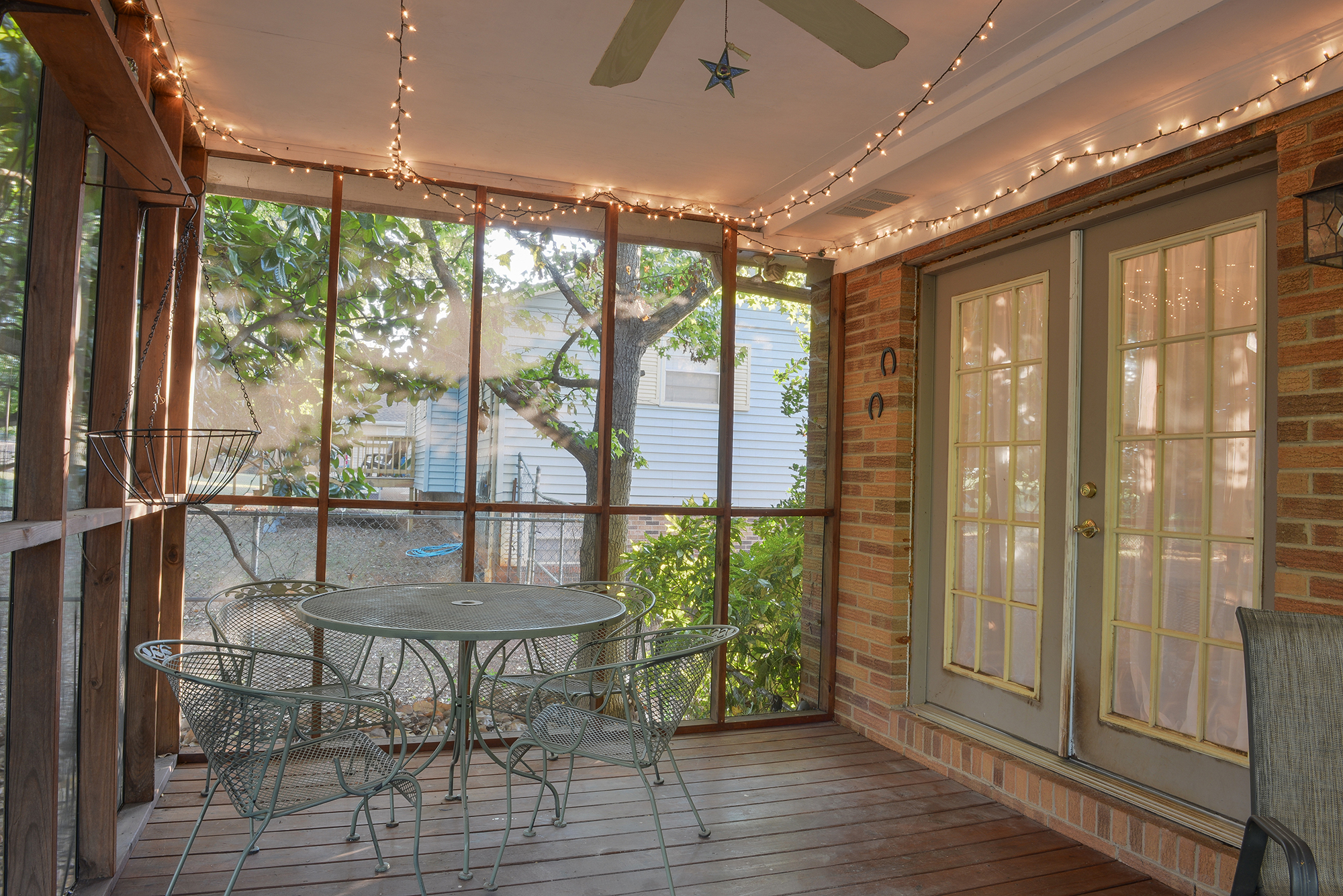 Back Porch - Real Estate Photography in Maryville, TN