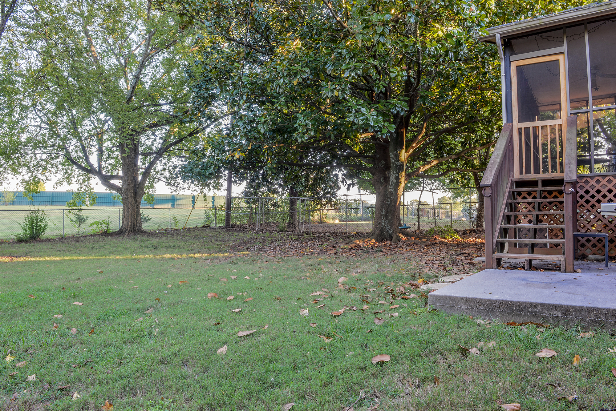 Back Yard - Real Estate Photography in Maryville, TN