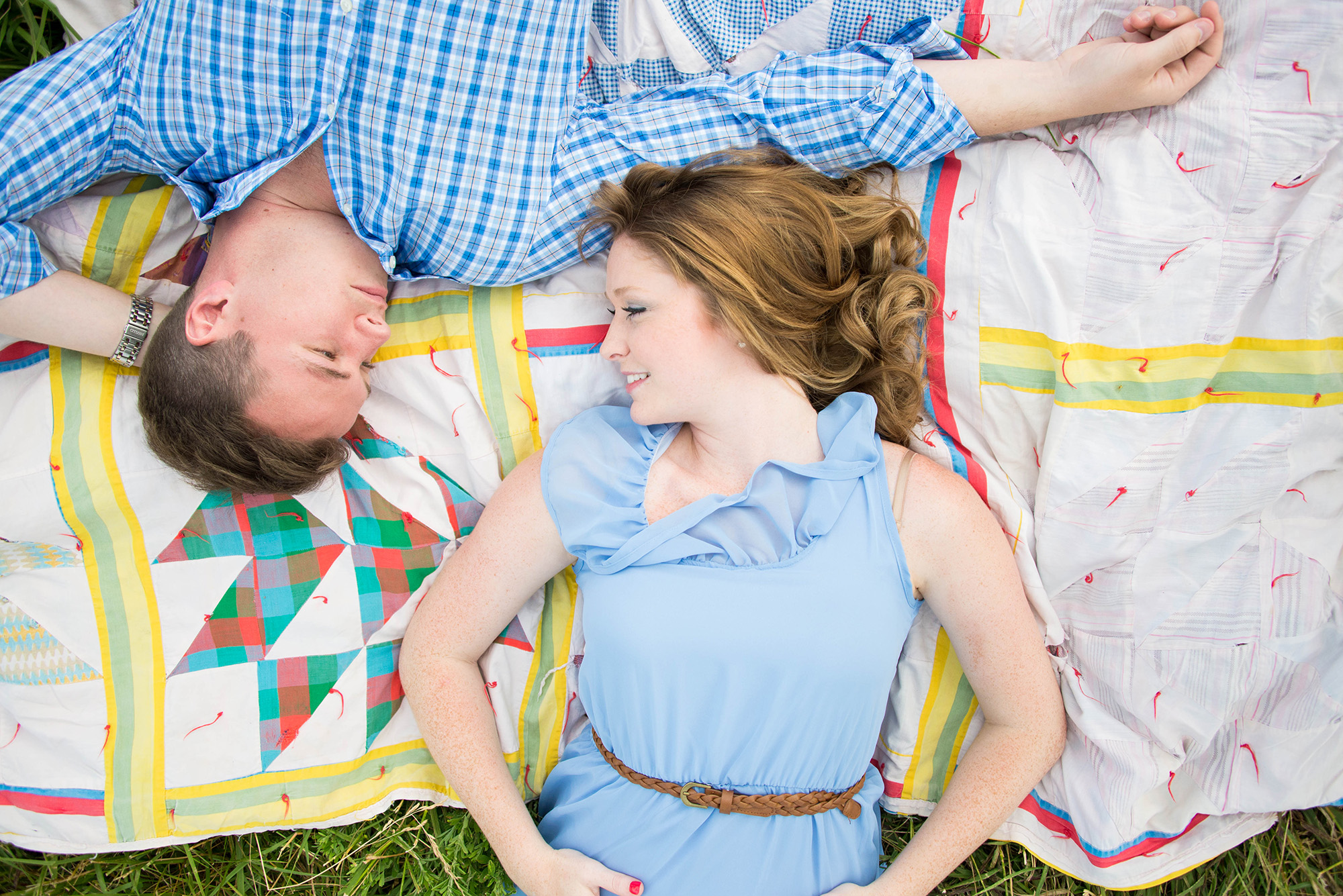 Engagement Photos In Cades Cove